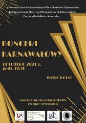Koncert karnawałowy w Piotrkowie