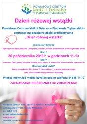 Dzień różowej wstążki w PCMD