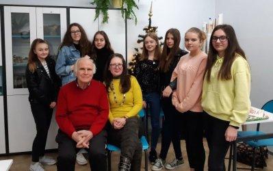 Niecodzienna lekcja języka niemieckiego w SP w Bogdanowie