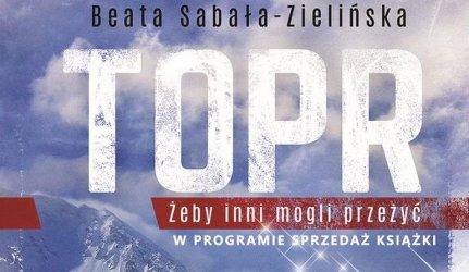Napisała książkę o TOPR. Spotkanie z Beatą Sabałą-Zielińską w piotrkowskiej bibliotece