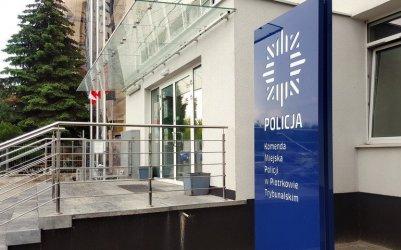 COVID-19 w komendzie policji w Piotrkowie