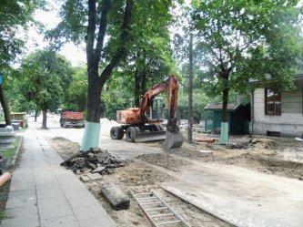 Trwa remont ulicy Cmentarnej w Piotrkowie [GALERIA]