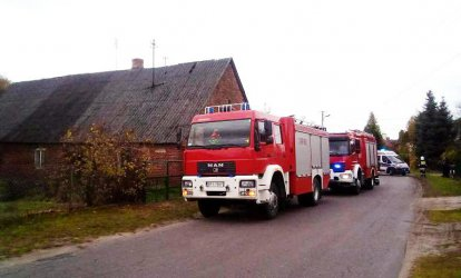 Pożar w Niechcicach. Nie żyje mężczyzna