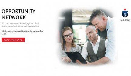 PKO BP: przedsiębiorcy mogą już korzystać z globalnej platformy biznesowej Opportunity Network