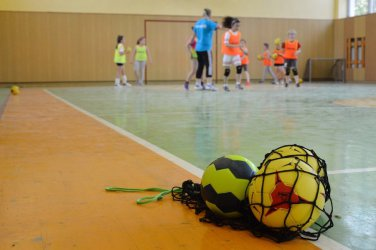 Najmłodsi będą się uczyć gry w piłkę ręczną