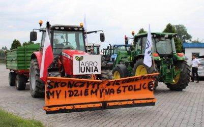 Rolnicy chcą ponownie zablokować DK12 w Srocku