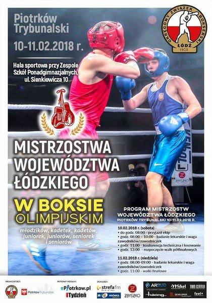 Bokserskie mistrzostwa w Piotrkowie