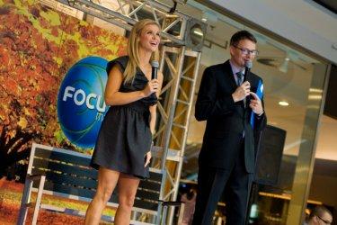Joanna Krupa na święcie mody w Focus Mall