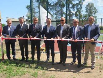 Nowe boiska w gminie Grabica