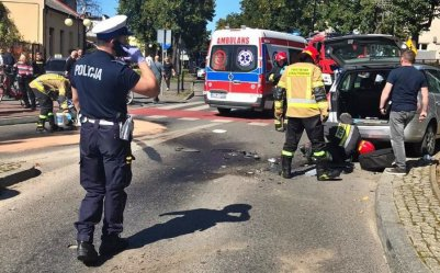 19-latek zginął w wypadku. Jechał kradzionym motocyklem