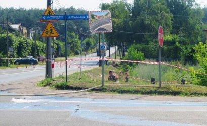 Uszkodzili gazociąg podczas prac drogowych