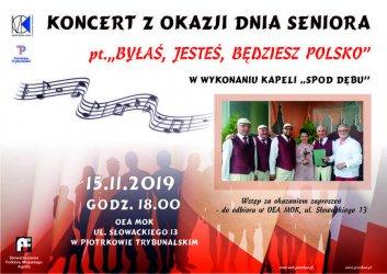 ''Byłaś, jesteś, będziesz Polsko''. Niezwykły koncert w OEA MOK