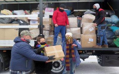 Pomoc z Piotrkowa ruszyła do chorwackiej Petrinji
