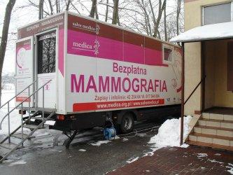 Skorzystały z bezpłatnej mammografii