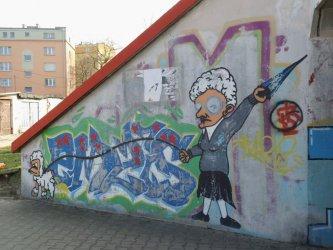 Sztuka ulicy na osiedlu Targowa