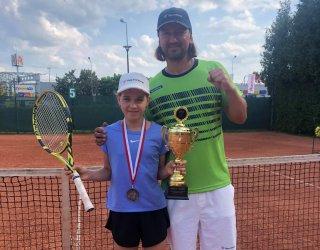 Medal piotrkowskiej tenisistki w Bielsku-Białej