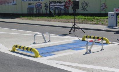 Inspektorzy mogą już korzystać z wagi przy rondzie Sulejowskim