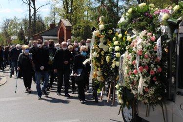 Na piotrkowskim cmentarzu pożegnaliśmy dziennikarkę Ewę Żarską