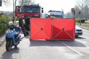 Śmierć na drodze w Piotrkowie
