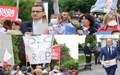 Morawiecki i Budka z wizytą w Piotrkowie