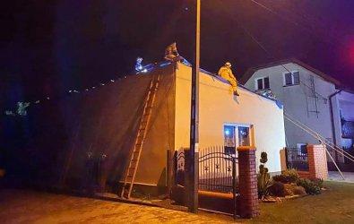 Gwałtowne burze przeszły przez Piotrków i powiat