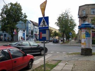 Piotrków: Ten znak jest za nisko
