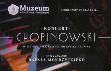 Koncert chopinowski w piotrkowskim muzeum
