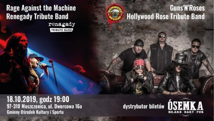 Koncert GUNS'N'ROSES Tribute Band