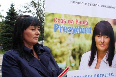 Koniec męskich układów! Aleksandra Rozpędek chce być prezydentem Piotrkowa