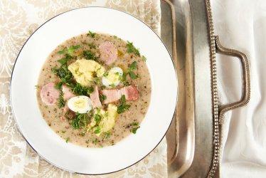 Wielkanocne potrawy z jajkami
