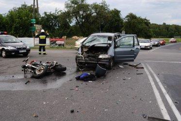 Region: Motocyklista zginął w wypadku