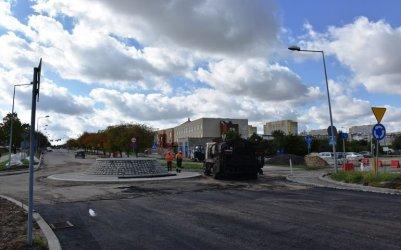 Będą układać asfalt. Kostromska będzie nieprzejezdna