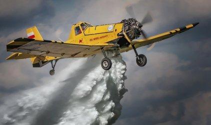 Samolotem do pożaru - Święto Strażaka w Wolborzu