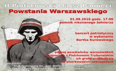 Marsz w rocznicę Powstania Warszawskiego