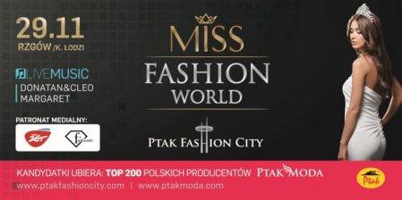 Miss Fashion World w Ptak Fashion City