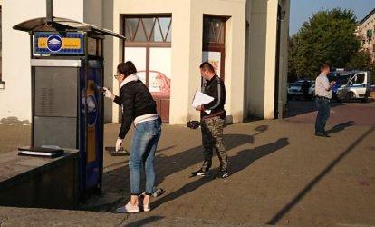 Wysadzili bankomat przy hali targowej