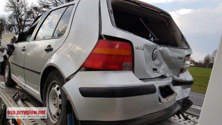 W Korytnicy zderzyły się 4 samochody