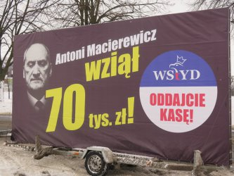 Konwój wstydu w Piotrkowie