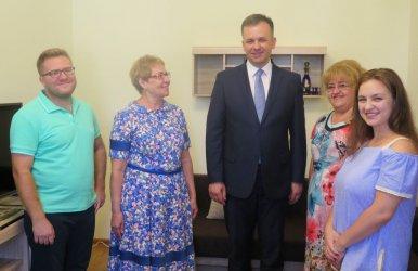 Piotrków przywitał kolejne dwie rodziny ze Wschodu