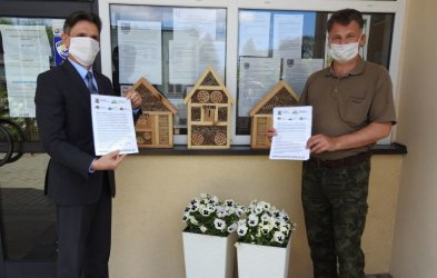 Hotele dla owadów również w gminie Aleksandrów