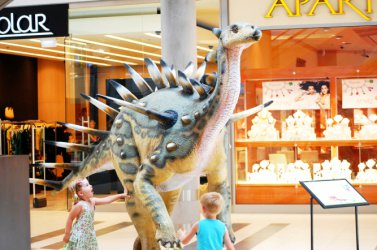 Piotrków: Dinozaury w Focus Mall