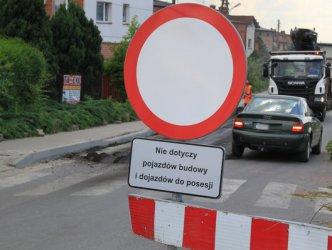 Zmiana organizacji ruchu w centrum Moszczenicy