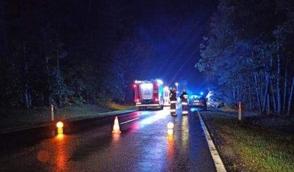 Śmiertelny wypadek na DK12
