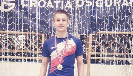Uczeń ZSP nr 2 wywalczył złoto w Zagrzebiu