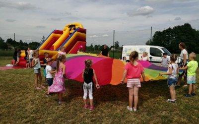 W Borowej zorganizowali festyn przy nowym placu zabaw