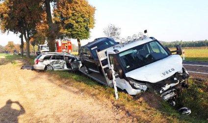 Tragedia na drodze. Nie żyją 3 osoby