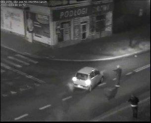 Pijany kierowca i chuligani wykryci przez miejski monitoring