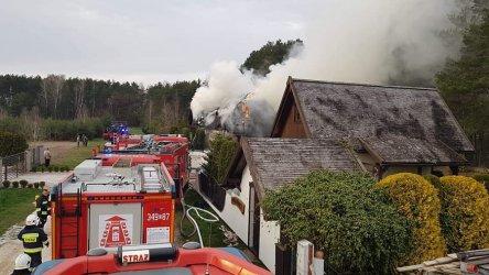 Pożar w gminie Wolbórz