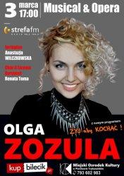 Olga Zozula – brylantowy głos zabrzmi na scenie MOK-u