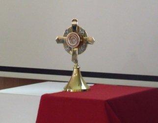 Uczniowie przywitali relikwie